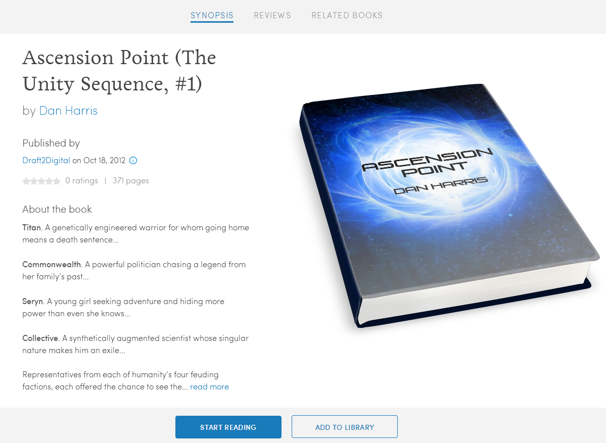Download PDF Ascension Point (The Unity Sequence Book 1)